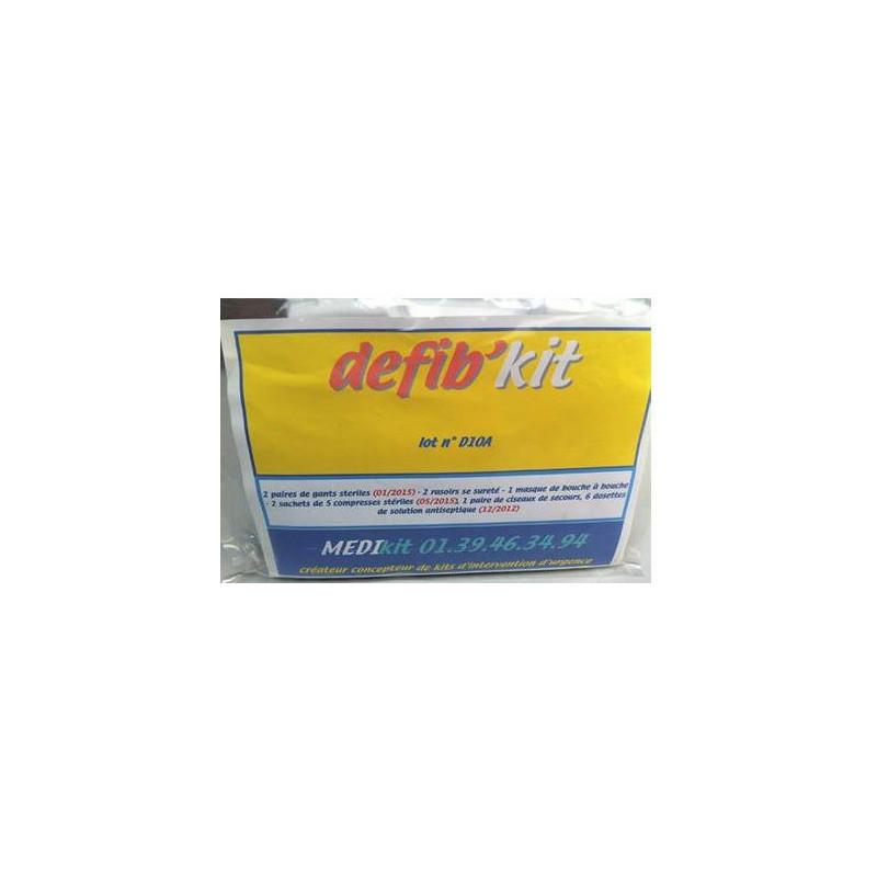 Défib'kit - Kit d'urgence pour défibrillateur