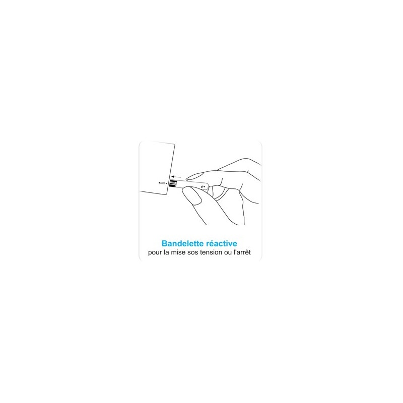 100 bandelettes pour glucomètre VOX