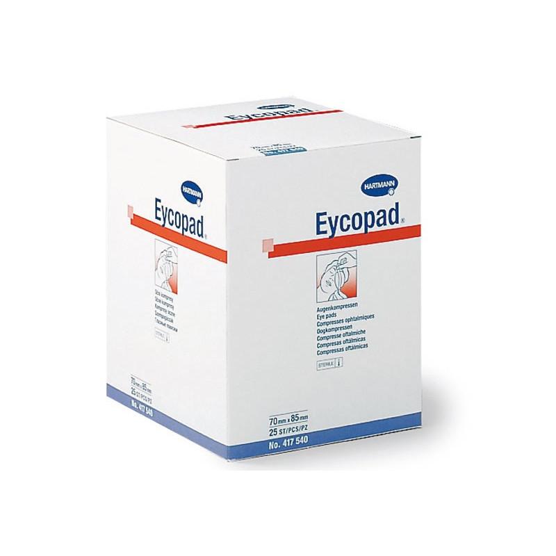 Compresses ophtalmiques stériles Eycopad (Boite de 25)