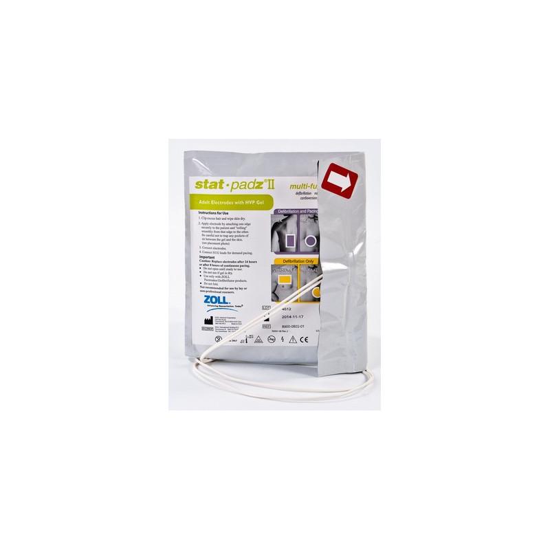 Electrodes adulte pour défibrillateur Zoll