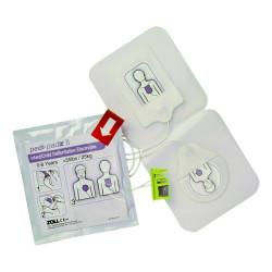 Electrodes pédiatrique pour défibrillateur Zoll