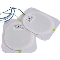 Electrodes adulte pour défibrillateur Saver One