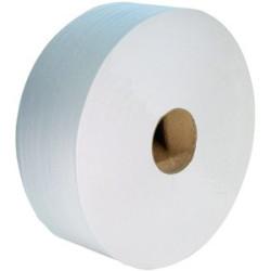 Papier toilette MAXI JUMBO Blanc (Le lot de 6 rouleaux)
