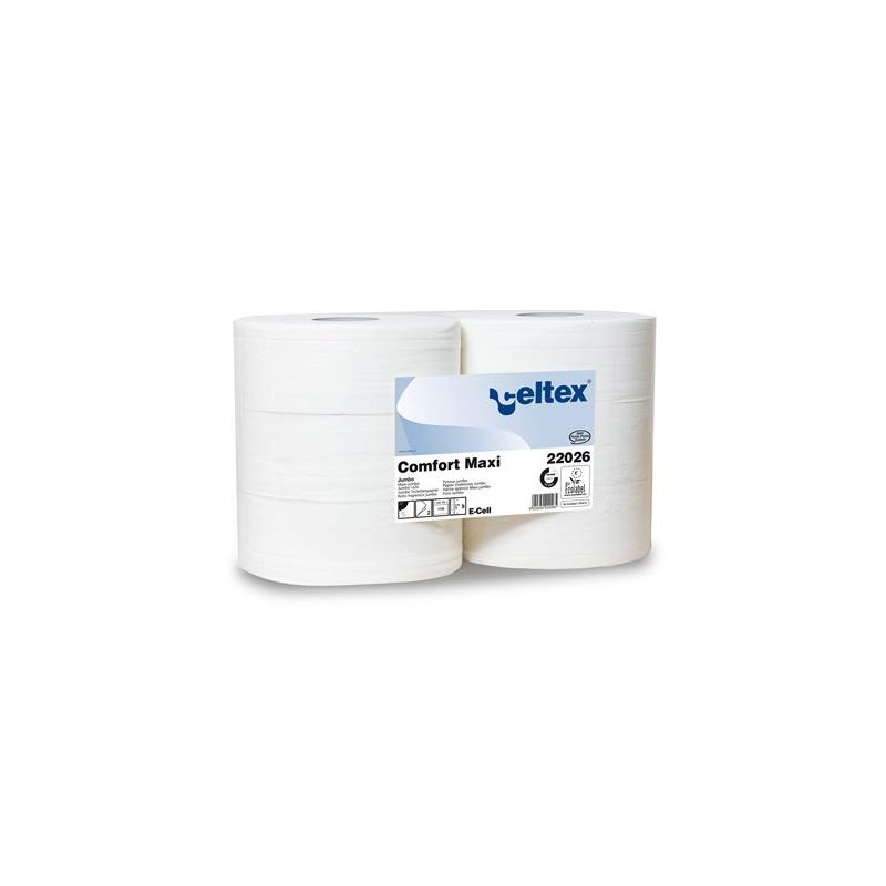 Papier toilette MAXI JUMBO Blanc - Le lot de 6 rouleaux
