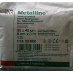 Sachet de pansement Metalline
