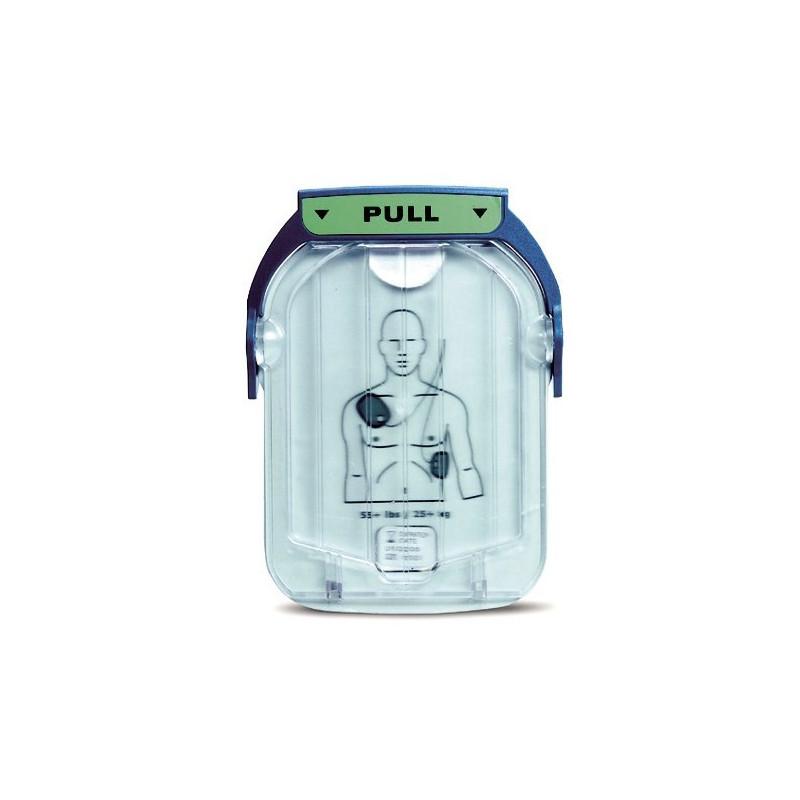 Electrodes adultes pour défibrillateur Philips HS1