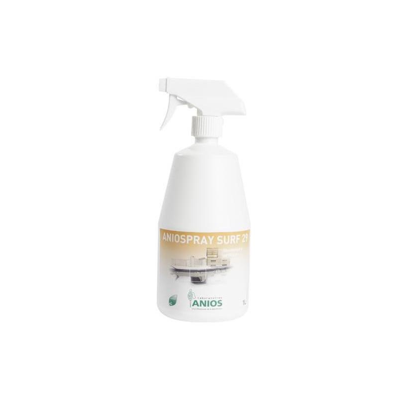 Aniospray Surf 29 - Désinfectant à pulvériser - 3 Bidons de 1 litre + pulvérisateur