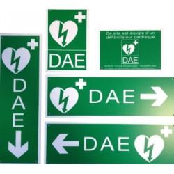 Kit signalétique Défibrillateur DAE