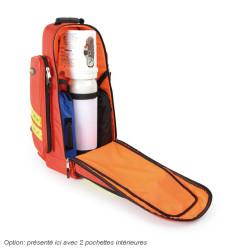 Sac oxygénothérapie 2 ou 5 litres DOPPLER Rouge