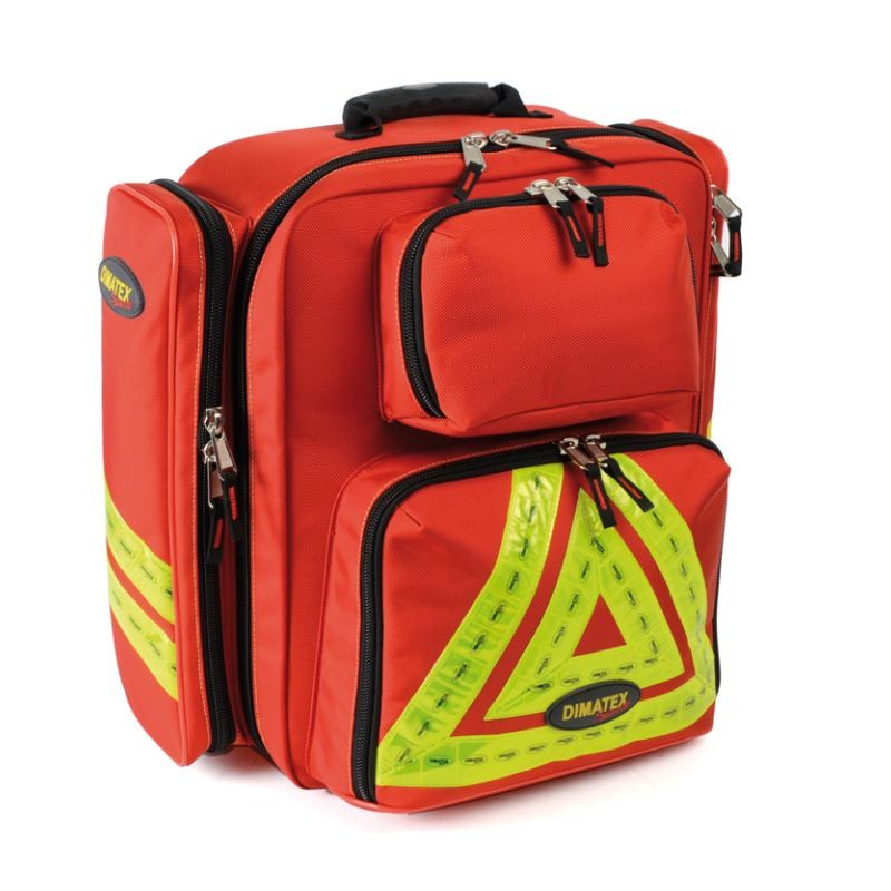 Sac d'intervention DIMATEX REFLEX Rouge