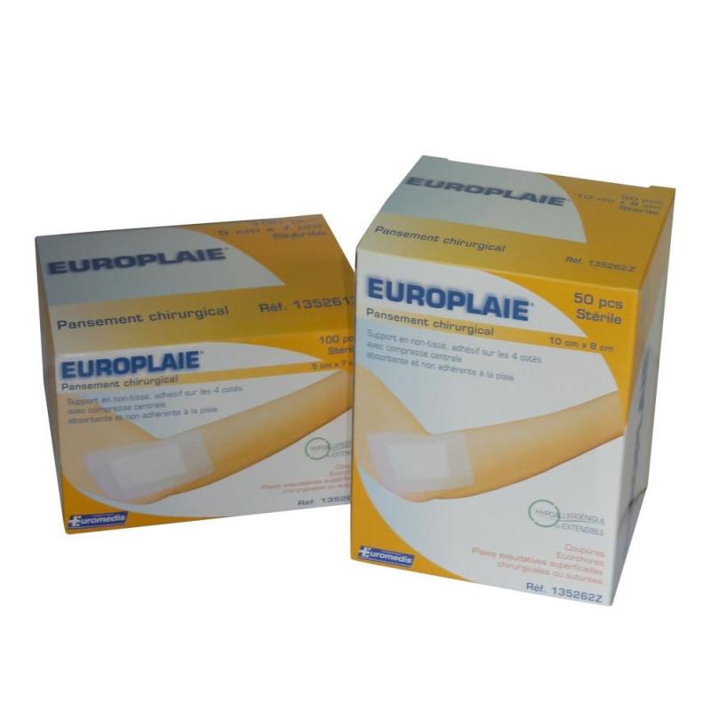 Boite de pansements chirurgicaux Europlaie