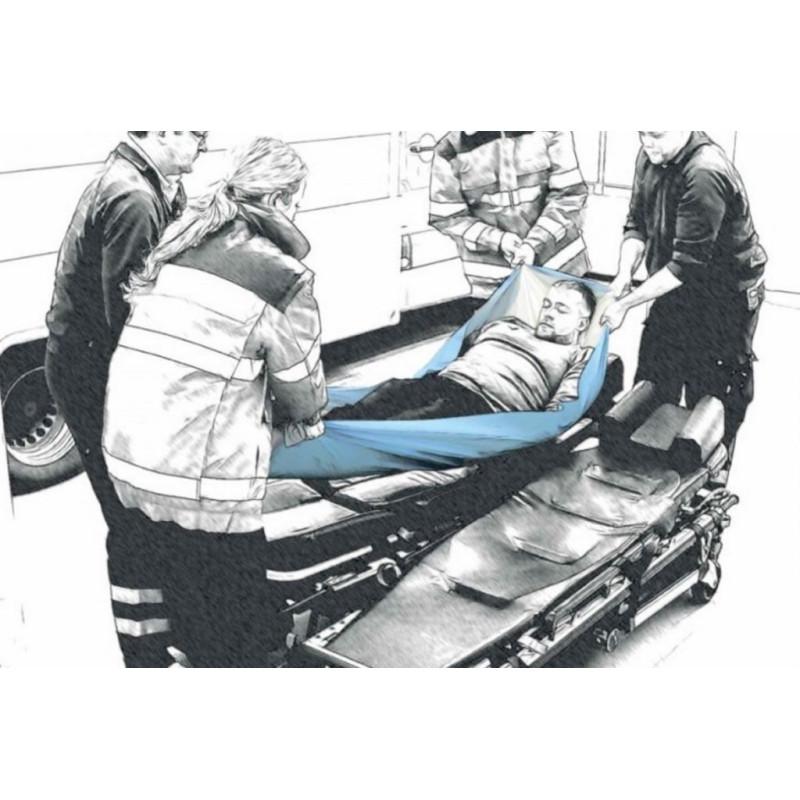 Drap de transfert avec Alèse absorbante - Portage : 150 kg