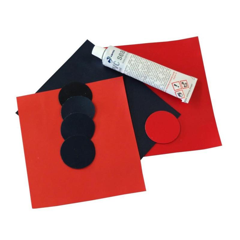 Kit de réparation pour attelles et matelas à dépression