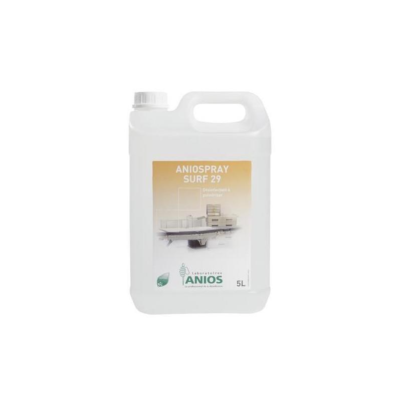 Aniospray Surf 29 - Désinfectant à pulvériser - Bidon de 5 litres