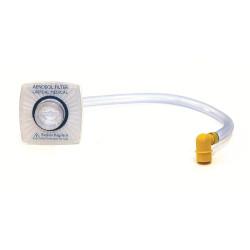 Filtre, tuyau et connecteur pour aspirateur de mucosités LSU Laerdal