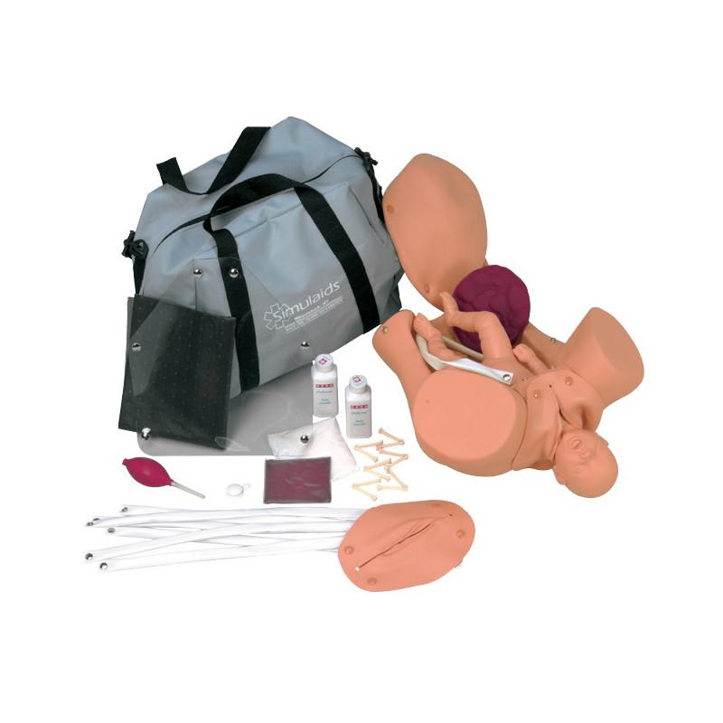 Mannequin de simulation d'accouchement Ambu