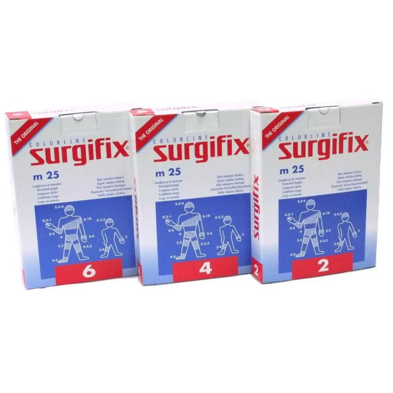 SURGIFIX Filet tubulaire élastique - Boite de 25 mètres