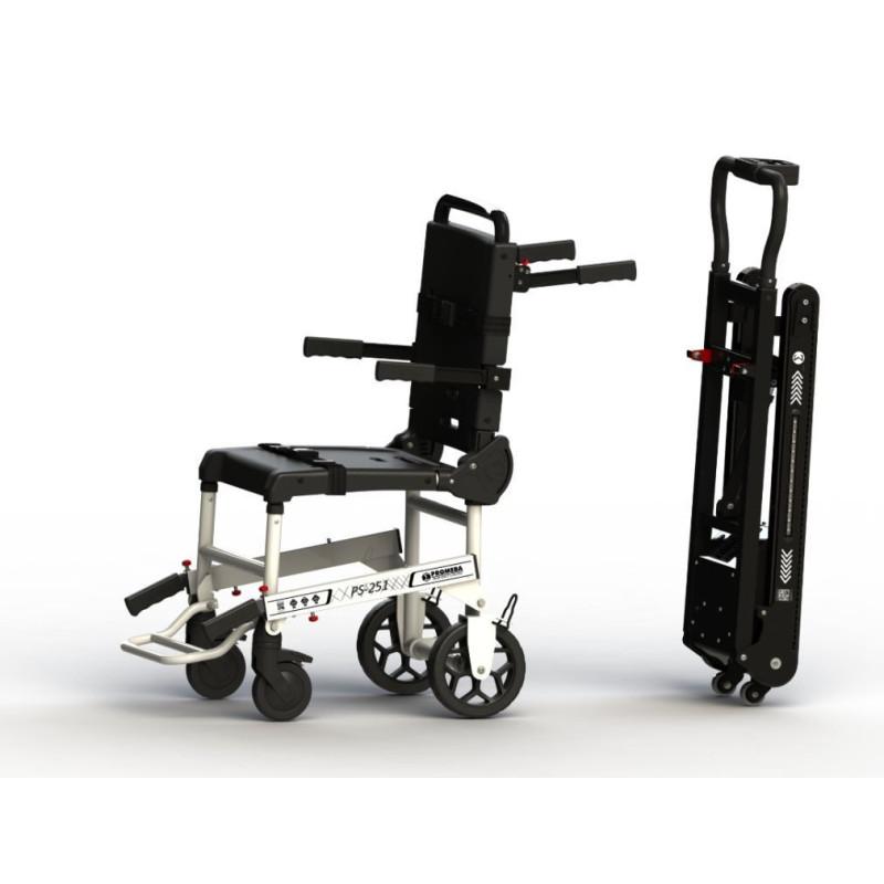 Chaise portoir PS-251 + Chenilles motorisées amovibles PA-260 (Option)