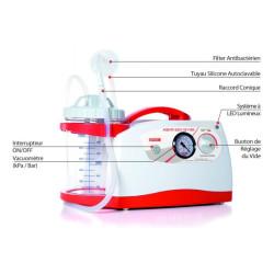 Aspirateur de mucosités électrique New Askir 230 / 12V BR