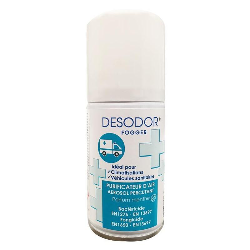 Purificateur d'air DESODOR Fogger EN14476 - Aérosol de 75 ml