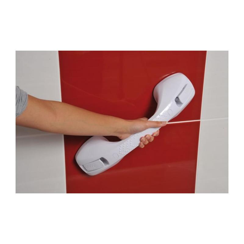 Barre d'appui à ventouses - 40 cm - Témoin de charge