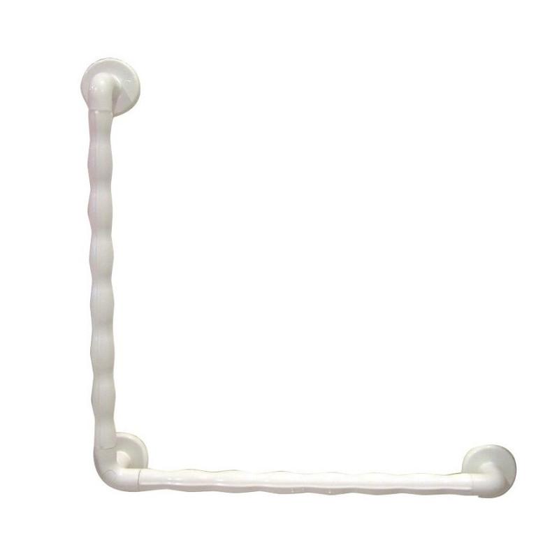 Barre spéciale douche blanche GRIP - 60 x 60 cm - Garantie à vie