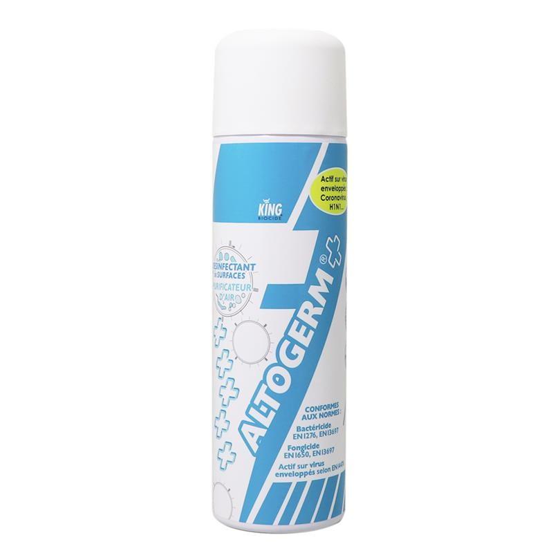 Purificateur d'air désinfectant surfaces EN14476 ALTOGERM - 500 ML