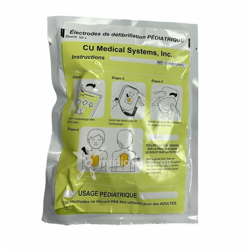 Electrodes pédiatrique pour défibrillateur Colson I-PAD Def-I et Auto-Def