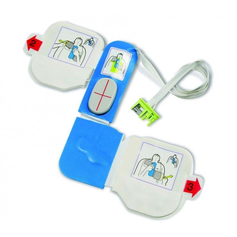 Electrode CPR-D Padz (5 ans) pour ZOLL AEDPLUS