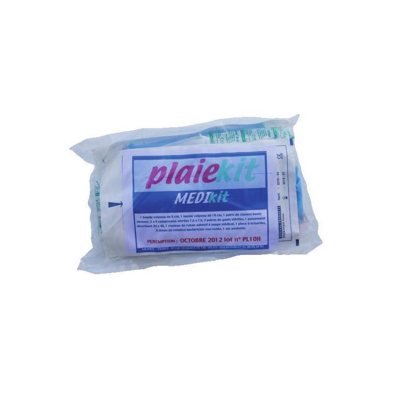 PlaieKit - Kit de secours pour soin des plaies
