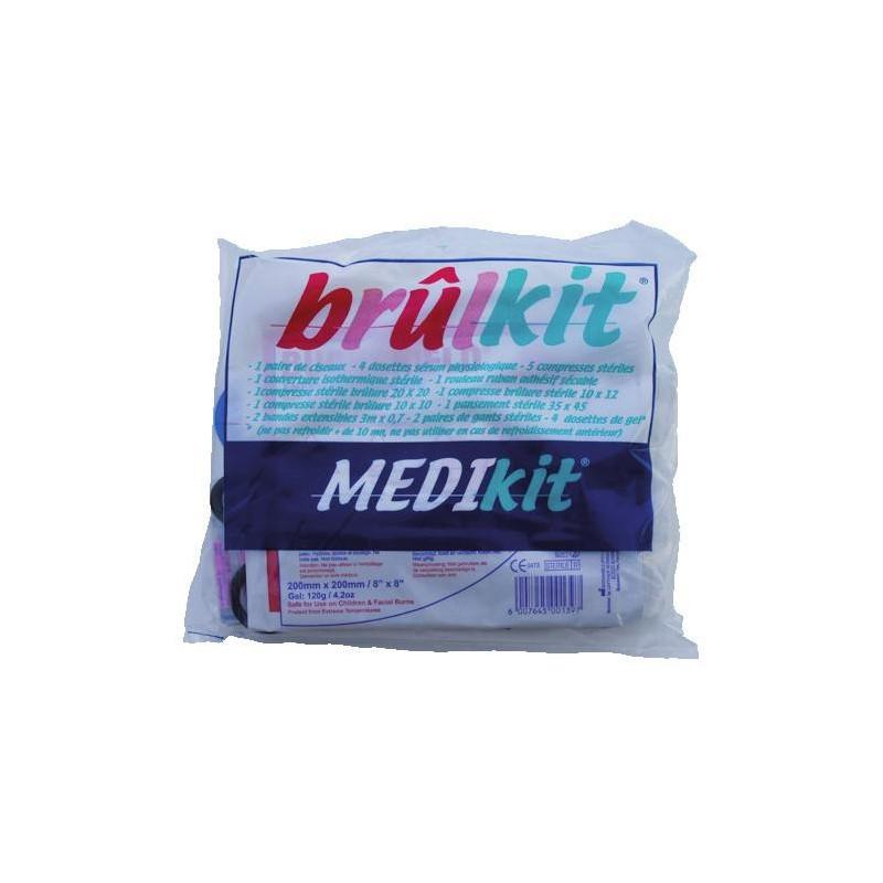 BrulKit - Kit de secours pour soin des brûlures