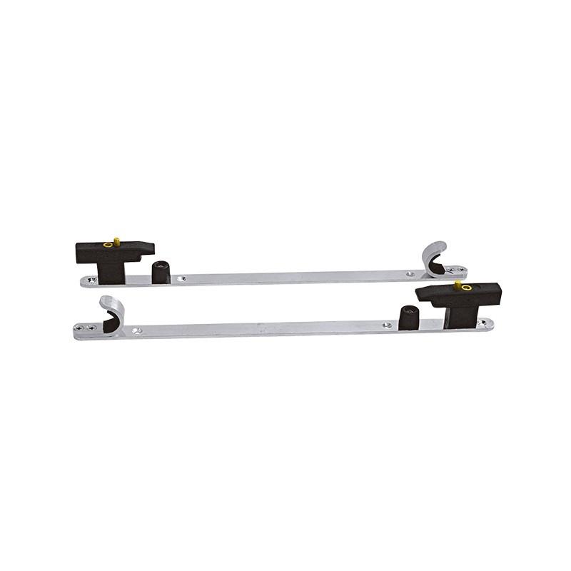 Système d'ancrage horizontal pour civière de relevage
