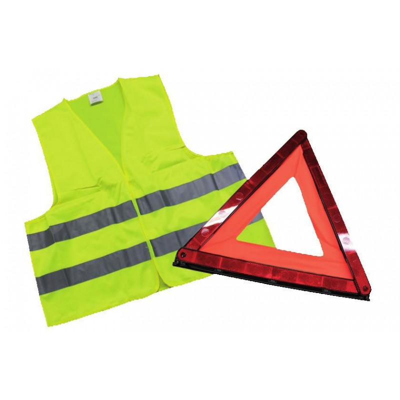 Ensemble gilet de secours + Triangle