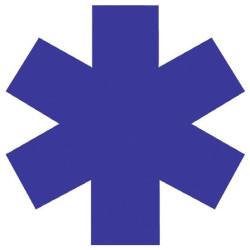 Adhésif croix de vie 26 ou 38 cm